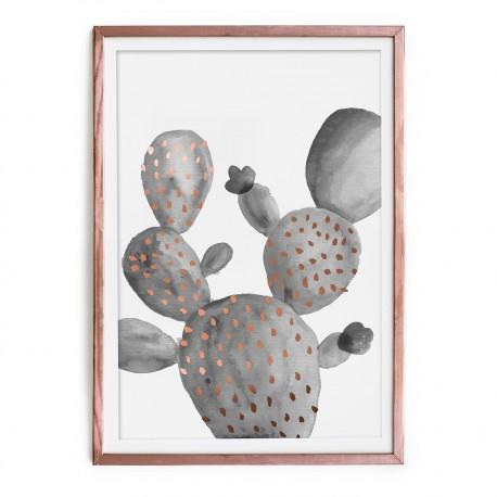 Cuadro cobre cactus by Surdic