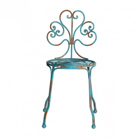 Silla Festival Chair Blue, forjado