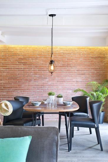 Reforma piso Born Barcelona Egué y Seta - Salón comedor