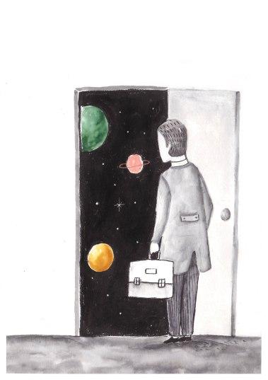 lamina hombre cosmico