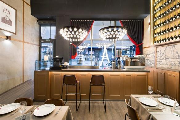 Restaurante francés, Barcelona, Poblenou, Madeleine Mon Amour