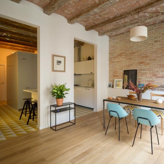 Renovación piso Eixample, Barcelona, Nook Architects
