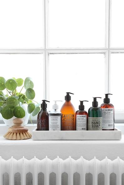 Jabón liquido de manos decoración baño cocina
